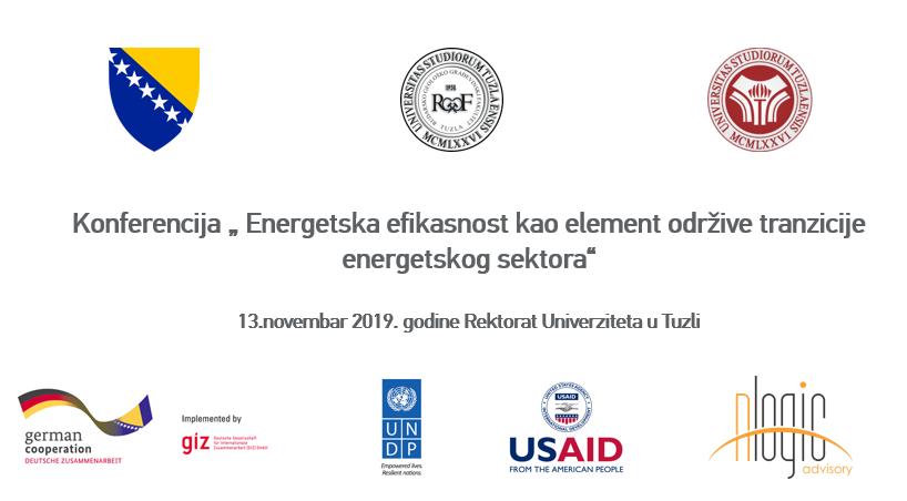 Konferencija o energetskoj efikasnosti 13. novembra u Tuzli