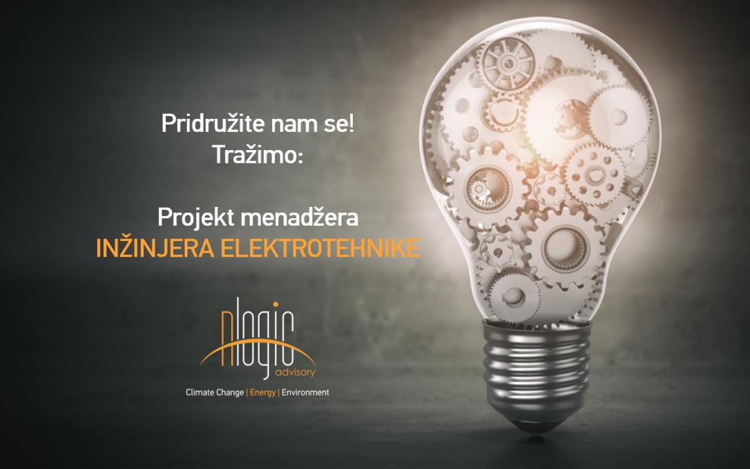Konkurs za otvorenu poziciju Projekt menadžer INŽINJER ELEKTROTEHNIKE iz oblasti energetike sa fokusom na energijsku efikasnost (EE) i obnovljive izvore energije (OIE)