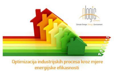 Projekti povećanja energijske efikasnosti u industriji BiH kao odgovor na COVID19